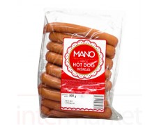 MANO virtos HOT DOG dešrelės 800g